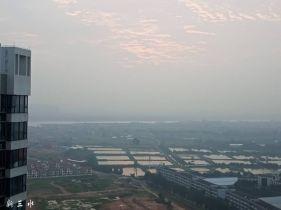 三水北江最美丽日出。。。